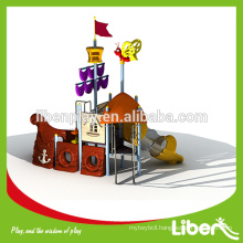 Pirate Ship Outdoor Play System With Tube Slide