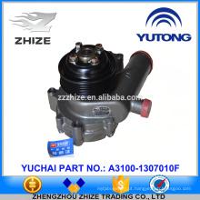 bomba de água de peças de motor yuchai A3100-1307010F