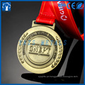 Novo design personalizado artesanato artes esportes prêmio suave esmalte dourado metal medalha