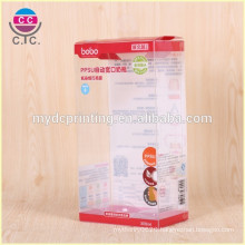 High quality customized baby tool PVC plastic folding box