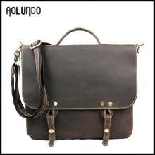 china wholesale leather messenger free sample laptop bag