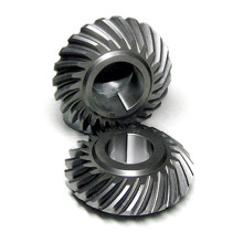 custom heavy duty carbon steel bevel spiral gear