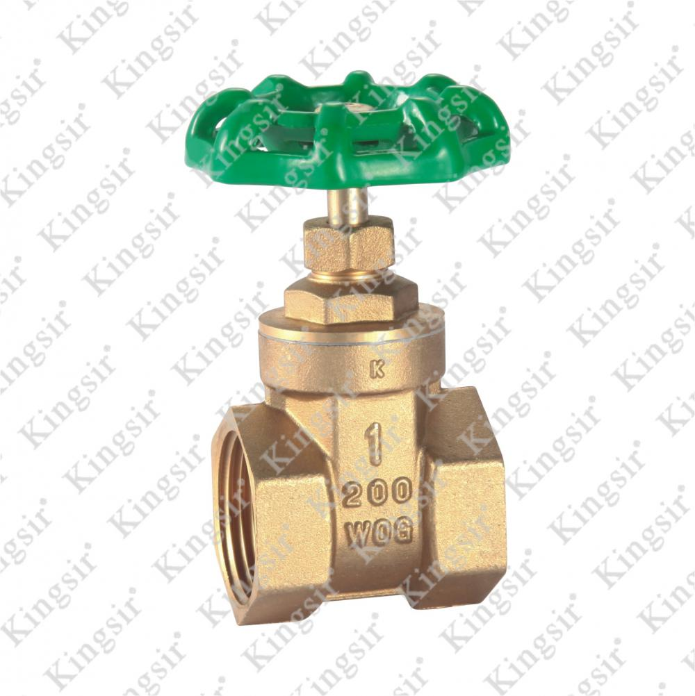 W.O.G Brass Gate Valves