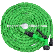 Expandable Hose with Brass Fitting Pattern Spray Nozzle Garden Hose