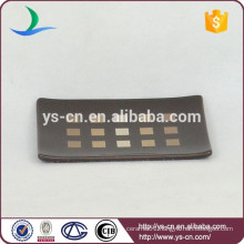 YSb50073-01-sd modern design ceramic bath soap dish products