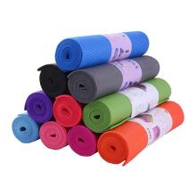yugland Exercise Mat Towel Travel yoga mats PVC Eco Friendly Non-Slip Yoga PVC Mats