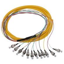 St Sm 12cores 9/125 Tresse fibre optique dans les télécommunications
