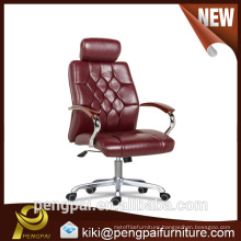 PU leather ajustable boss manager office chair