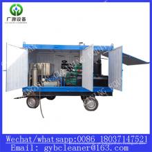 Industrial refrigeração tubulação 1000bar de sistema de limpeza