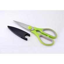 Sharp Edelstahl Küchenschere mit Magnetverschluss
