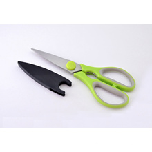 Sharp Stainless Steel Kitchen Scissors with Magnetic Cap