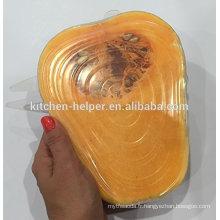 Great Sell FDA & LFGB Alimentation Standard Silicone Sealing Cache / Couvercle en coton en silicone / couvercle d'aspiration en silicone
