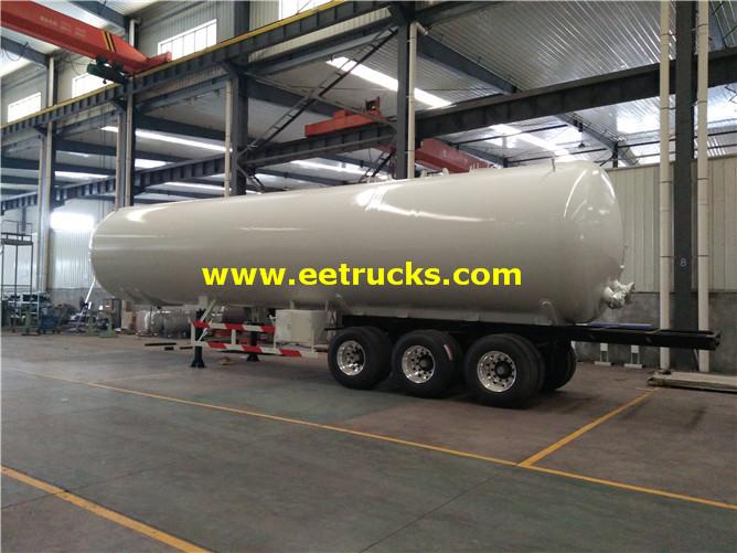 LPG Delivery Trailer Tanks
