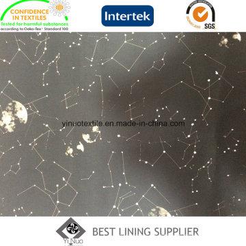 Teste padrão impresso do céu estrelado para a tela do forro do forro do revestimento do Menâ € ™ s