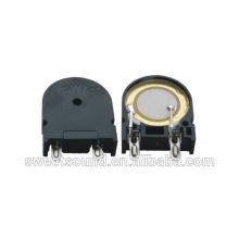 Alarme de alarme para máquina de lavar 22mm 5v 2khz 80dB transdutor piezoelétrico