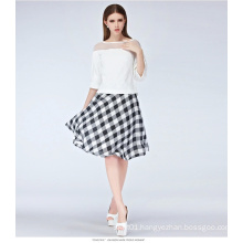 Wholesale New Fashion Summer Casual Plaid Women Skirt