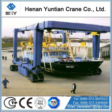 Yacht lifting crane/ boat lifting crane/ gantry crane More questions, please send message to me!