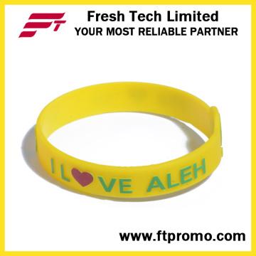 Soem-Geschenk-Sport-Silikon-Armband-Silikon-Armband
