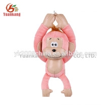 Long arms and legs monkey plush emoji monkey keychain