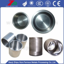 Refractory polished Tungsten crucible high-temp resistance