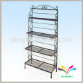 Factory customized Supermarket cargo wire metal display rack for snacks