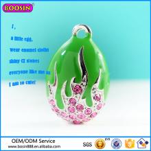 Pendentif ovale de pendentif d'oeuf de bijoux mignons de haute qualité personnalisés