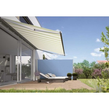 Retráctil Side Awning Patio Cover Blue Sombrilla 300 * 120CM
