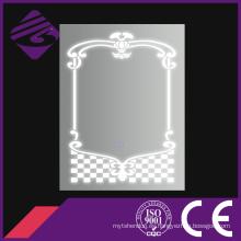 Espejos de baño Jnh248 Espejo de pared decorativo LED con patrones Beauitful