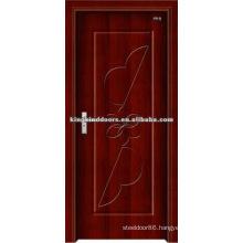 Beautiful Simple MDF DOOR With PVC sheet/PVC Door (JKD-8058) For Interior Door Used From China Top 10 Brand