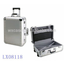 nouvelle arrivée--luxe forte & portable aluminium bagages en gros fabricant