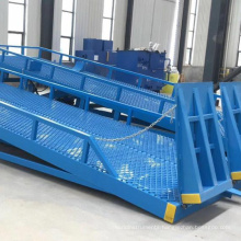 6-15T hydraulic mobile container truck loading unloading ramps for trailers 6-15T hydraulic mobile container truck loading unloading ramps for trailers
