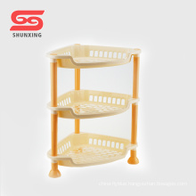Good quality 3 layers durable kitchen accessories rack for sale