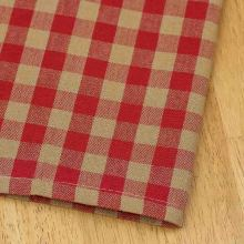 Red checker kitchen dish towel