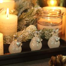 Handmade Glass Angel Ornament Hand Blown Glass Craft