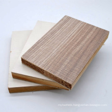 chinese 18mm E1 glue poplar core melamine film faced block board with manufacture price
