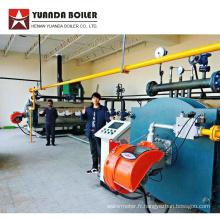 Chaudière de chauffage à serpentin à gaz pour l'usine de contreplaqué