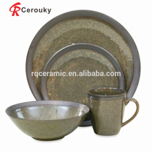 MOQ 50pcs Liling manufacturer stoneware tableware set