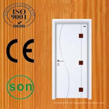 Exzellente Verarbeitung Kiefernholz bündig Tür-designs