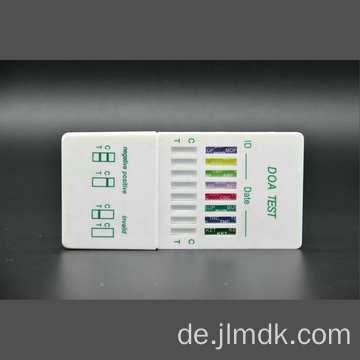 DOA Rapid Test Kit 6-Panel-Urin-Drogentest