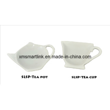 Dolomite Tea Cup, Tea Pot Design Spoon Rest