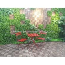 Eco-friendly Bistro mesa y silla / muebles de exterior de Vietnam