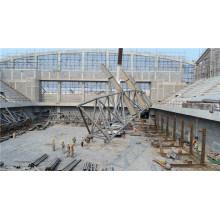 Estructura del braguero de la tubería de acero resistente al terremoto / edificio fabricado de acero