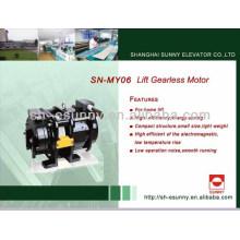 Gearless motor Hubmotor SN-MY06 320-450kg