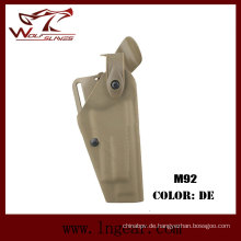 Taktische Ausrüstung Safriland 6320 taktische Pistole Holster für M92