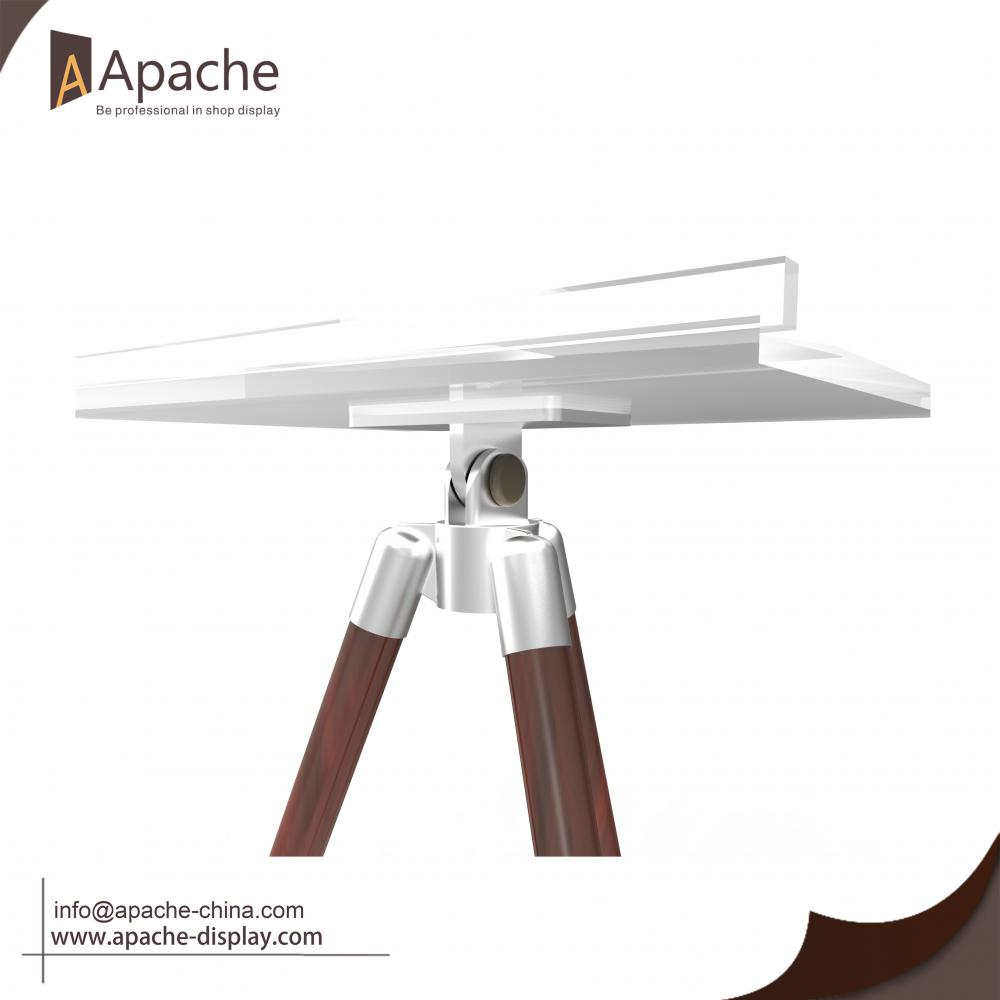 Tripod Acrylic Table Board Book Holder