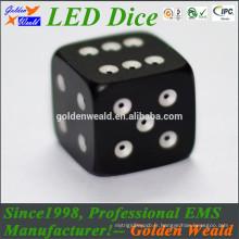 LED bleu vert rouge d'éclairage MCU contrôle 20mm coloré LED dés