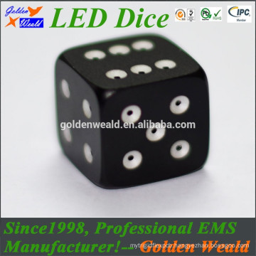 Red Green Blue LED lighting MCU control colorful 20mm LED dice