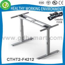 El más nuevo marco ajustable eléctrico de la tabla de la altura con el regulador