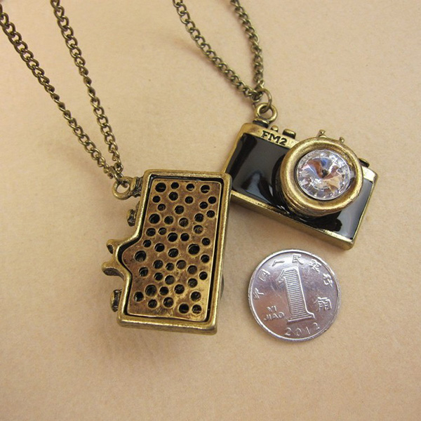Camera Pendant Necklace Cheap Fashion Jewelry