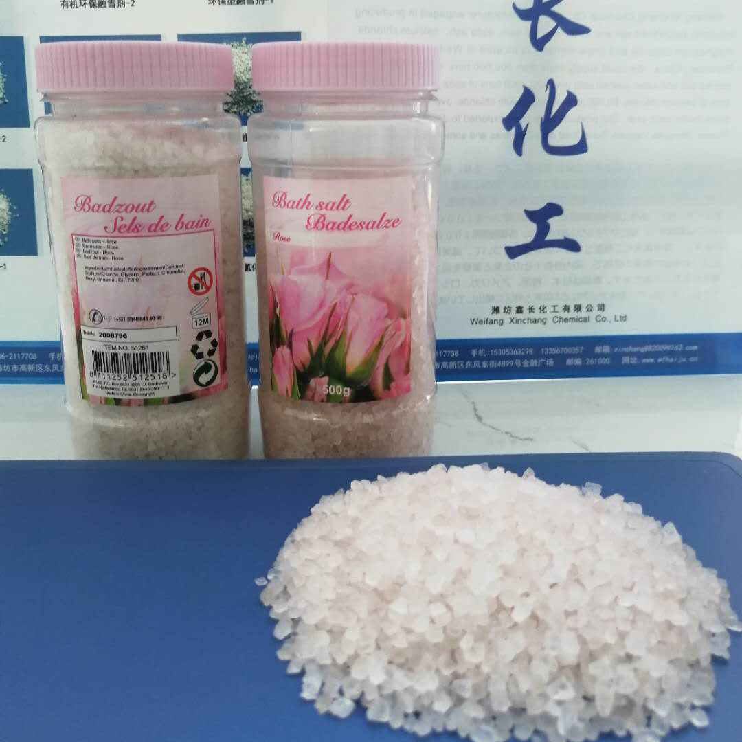 Rose Smell Pink Bath Salt